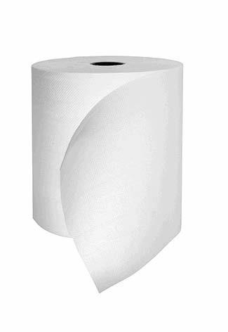 Essuie-mains rouleau 2 plis blanc AUTOCUT