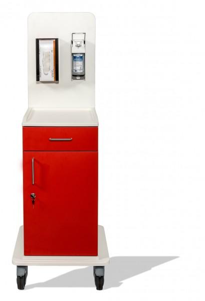 Chariot d'isolement MEDICART avec tiroir + accessoires